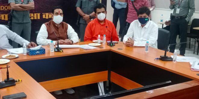 वैक्सीनेशन शिविर लगाएं: मंत्री डॉ. नरोत्तम मिश्रा